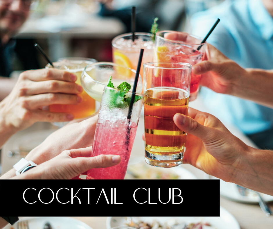 cocktail club graphic